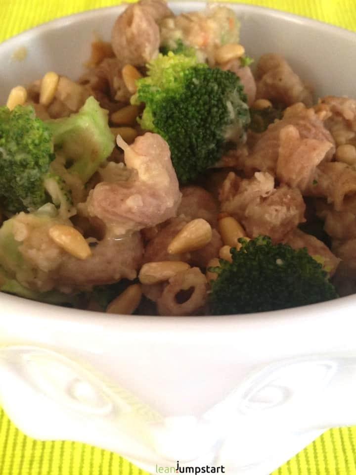 white bean broccoli pasta