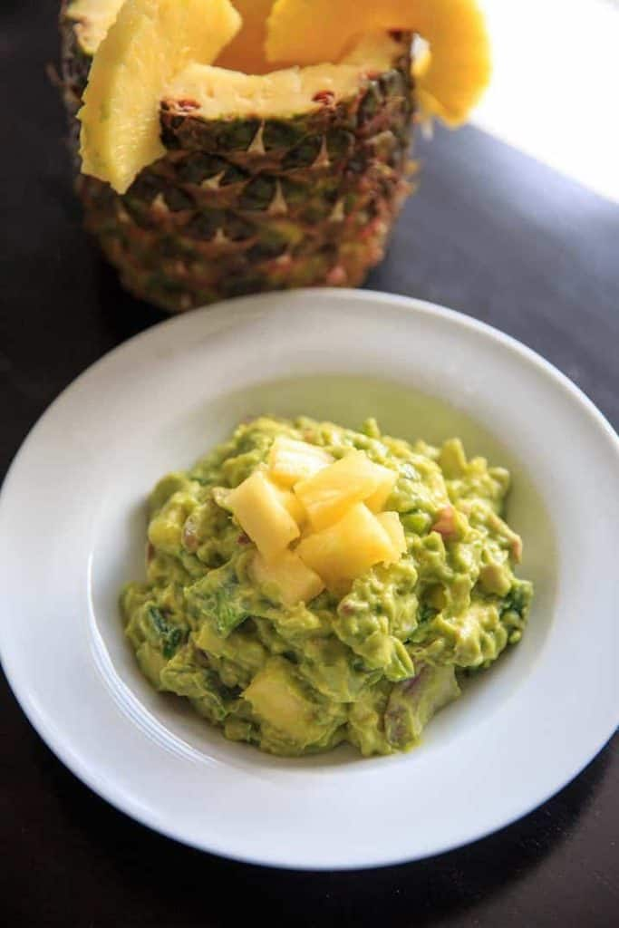 Pineapple Jalapeno Guacamole Recipe