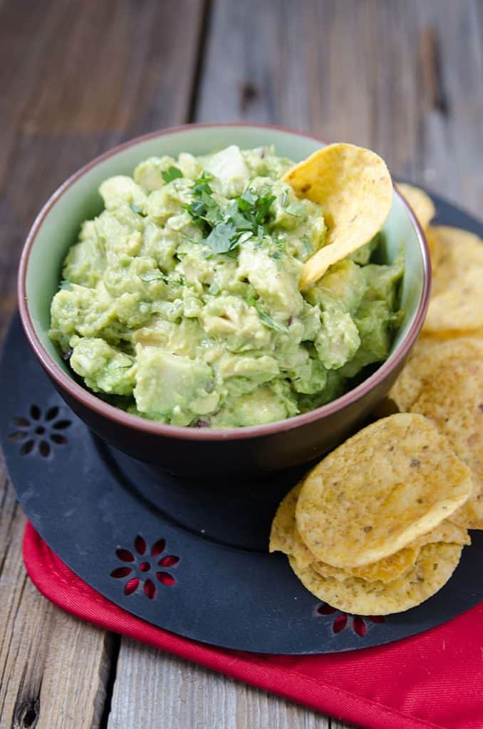 Weight watchers Guacamole