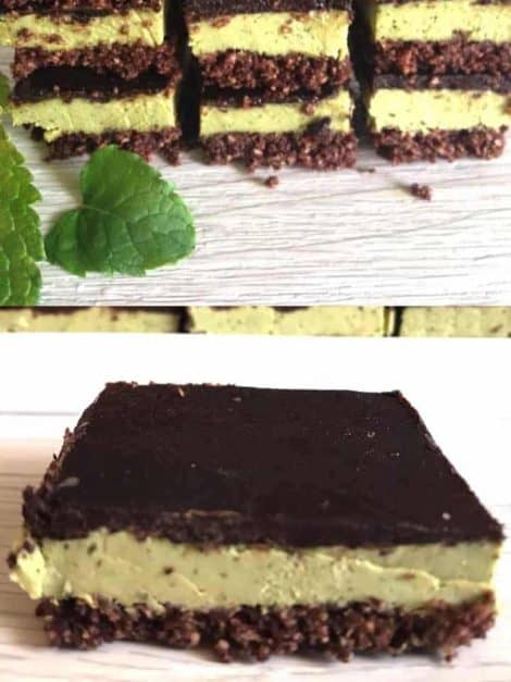 choc mint slices