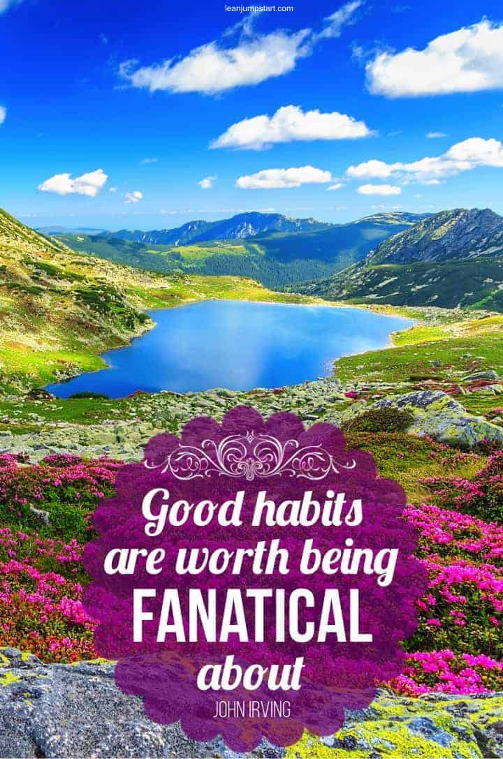 good habits quote