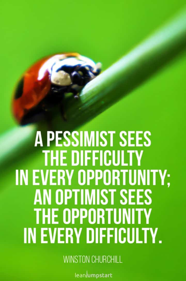 optimist quote