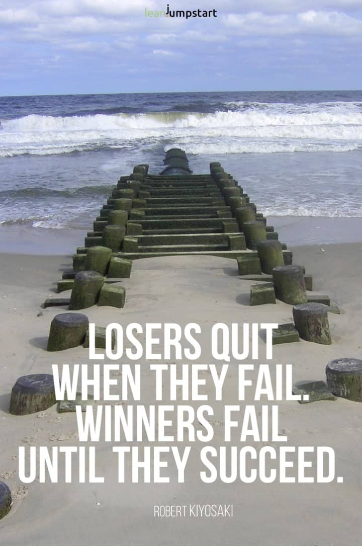 setback and failure quote