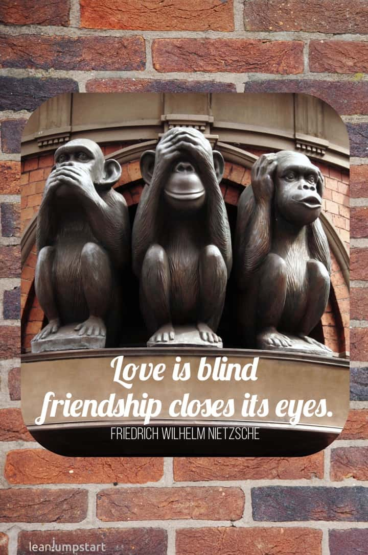 friendship quotes - friendship closes eyes quote