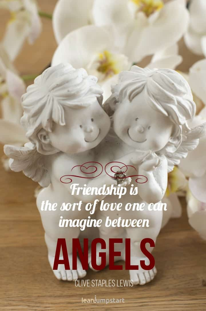 love and friendship quote