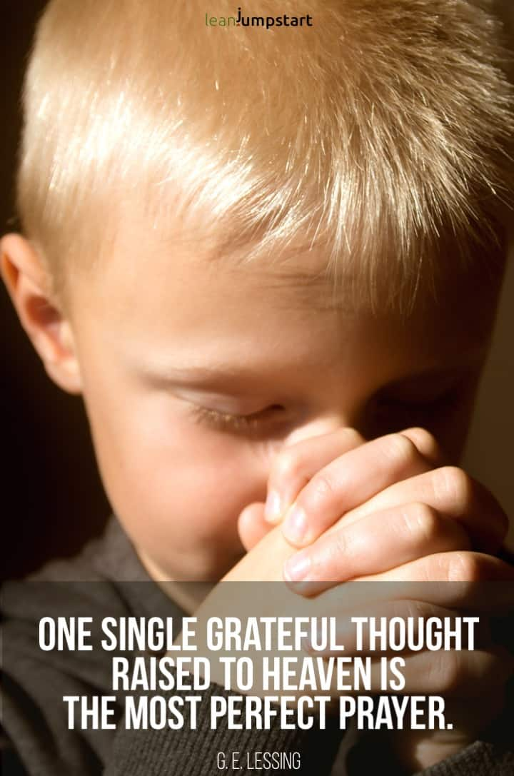 prayer gratitude quote