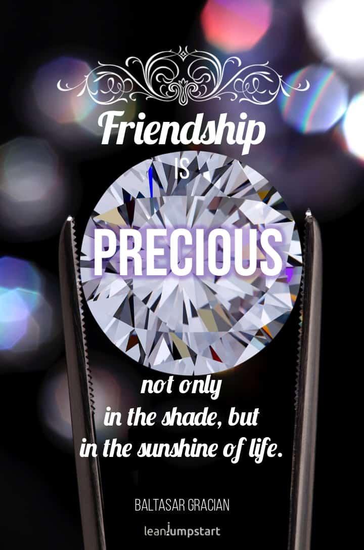 precious friendship quote