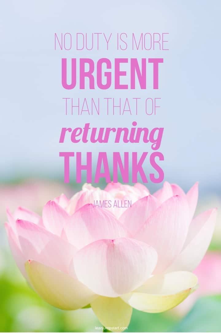 returning thanks quote