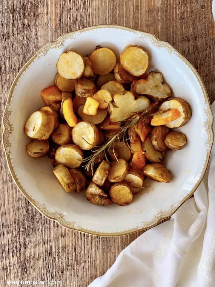roasted sunchokes