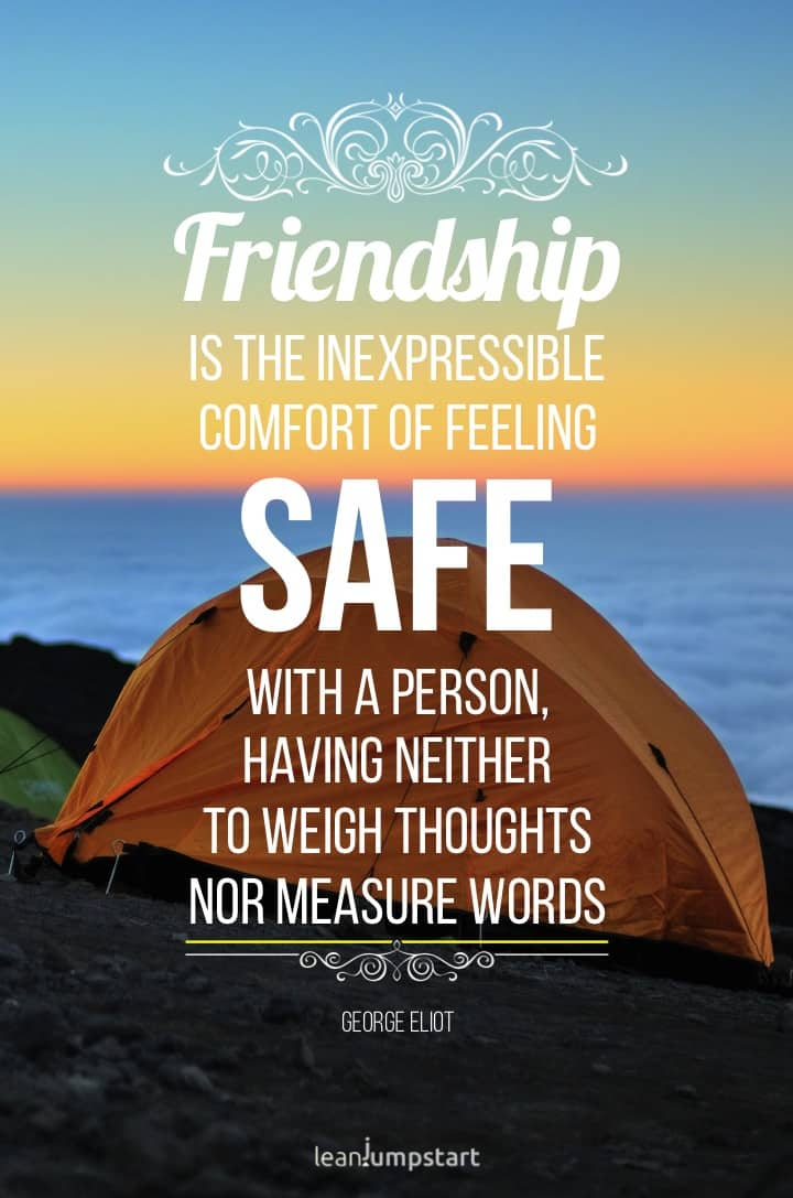 friendship quotes - shelter quote