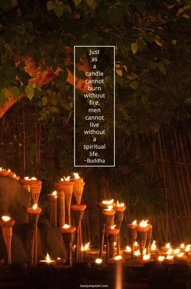 spiritual life quote
