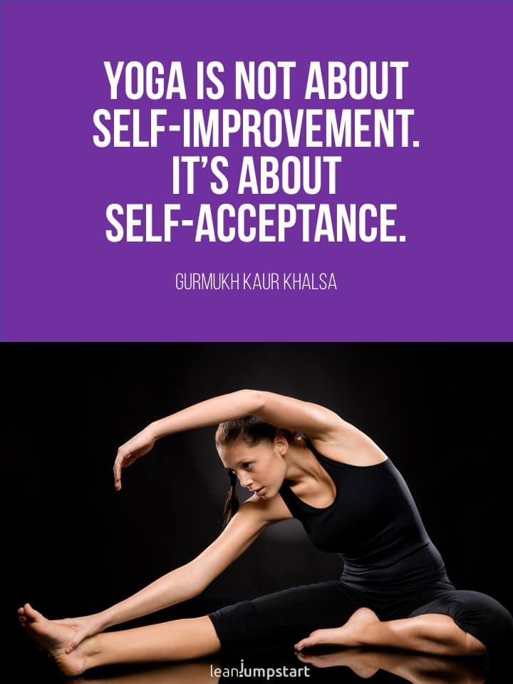 yoga love quote