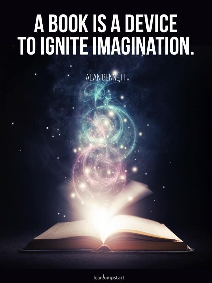 reading creativity quote