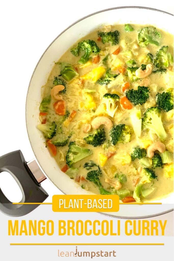 mango broccoli curry